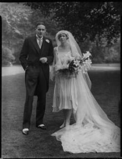 Edward Hincks Partridge; Brenda Partridge (née Hutchison), by Lafayette - NPG x137018