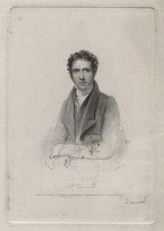 George Daniel, by Richard Woodman, published by  John Cumberland, after  Thomas Charles Wageman - NPG D42636