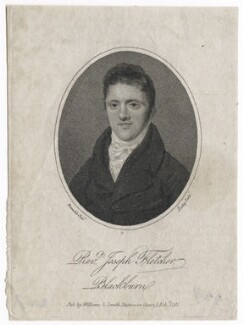 Joseph Fletcher, by William Ridley, published by  Nathan Cooper Branwhite, after  Williams & Smith - NPG D42638