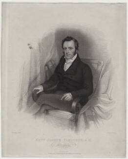 Joseph Fletcher, by Thomas Blood, published by  Francis Westley, after  John Robert Wildman - NPG D42641