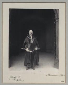 Sir John Knill, 2nd Bt, by Benjamin Stone - NPG x137056