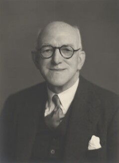 Sir Edward James Salisbury, by Walter Stoneman - NPG x185098