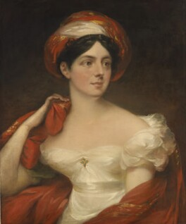 Mary English (née Ballard, later Greenup), by William Armfield Hobday - NPG 6964