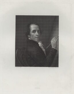 Antonio Canova, drawn by S. Levi Polacco, printed and published by  Achille Paris, after  Antonio Canova - NPG D42644