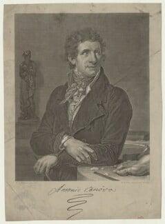 Antonio Canova, by William Henry Worthington, after  François Xavier Fabre - NPG D42646