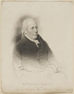 Alexander Waugh, by Thomas Wright, published by  Francis Westley, after  Thomas Charles Wageman - NPG D42534