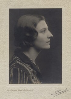 Dame Eileen Louise Younghusband, by Angus Basil, 1930s - NPG x137089 - © National Portrait Gallery, London