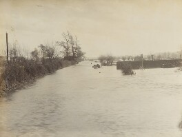 'The Road to Abingdon - The Floods at Oxford', by Unknown photographer - NPG P1700(5a)