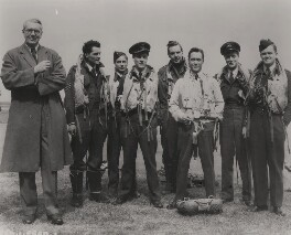 The cast of 'The Dam Busters', by Unknown photographer - NPG x137091