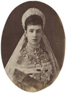 Maria Feodorovna, Empress of Russia (Princess Dagmar), by Sergey Lvovich Levitsky - NPG P1700(6c)
