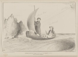 Steering between Scylla and Charybdis, by John ('HB') Doyle, published by  Thomas McLean, printed by  General Lithographic Establishment - NPG D41618