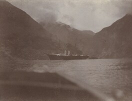 The Royal Yacht, 'Victoria & Albert', at Merok, Norway, by Unknown photographer - NPG Ax137117
