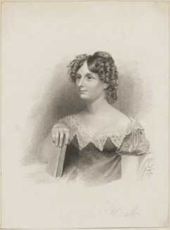 Sarah West (née Cooke), by Thomas Woolnoth, published by  Gold & Northouse, after  Thomas Charles Wageman - NPG D42535