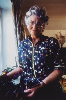Mary Whitehouse, by Clay Perry - NPG x137124