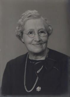 Caroline Selina Ganley (née Blumfield), by Elliott & Fry - NPG x182141