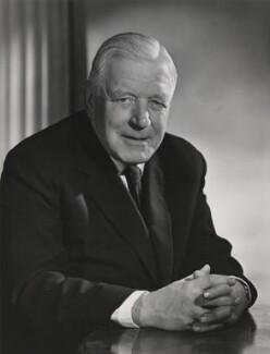 Sir Harold George Sanders, by Walter Bird - NPG x185117