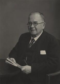 Sir Douglas Lloyd Savory, by Walter Stoneman - NPG x185143