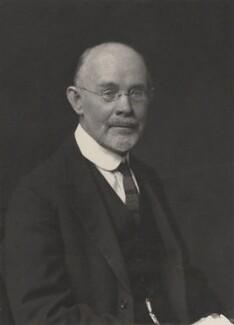 George Adolphus Schott, by Walter Stoneman - NPG x185185