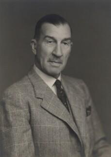 Sir Edmond Charles Acton Schreiber, by Walter Stoneman - NPG x185186