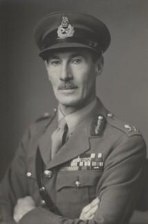 Sir Ronald MacKenzie Scobie, by Walter Stoneman - NPG x185189