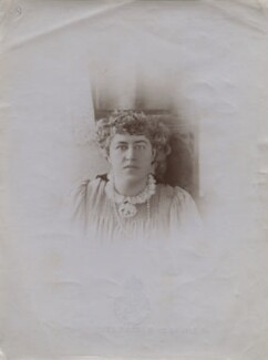 Jane Alice ('Jenny') Morris, by Unknown photographer - NPG x137147