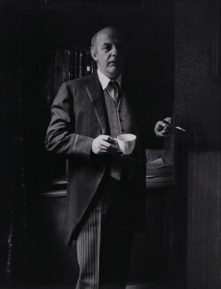 Sir John Betjeman, by Rollie McKenna - NPG x137168