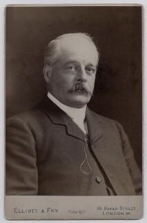 Sir Frederick Harrison, by Elliott & Fry - NPG x137201