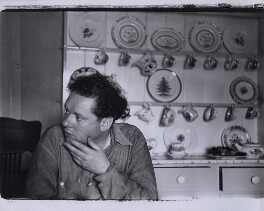 Dylan Thomas, by Rollie McKenna, September 1953 - NPG x137178 - © Rosalie Thorne McKenna Foundation; Courtesy Center for Creative Photography, University of Arizona Foundation