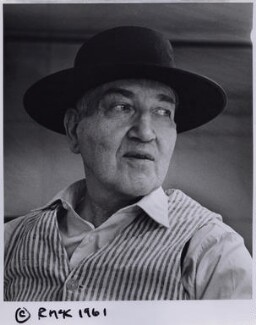 Robert Graves, by Rollie McKenna, 1961 - NPG x137183 - © Rosalie Thorne McKenna Foundation; Courtesy Center for Creative Photography, University of Arizona Foundation