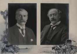 John Poynder Dickson-Poynder, 1st Baron Islington; Herbert John Gladstone, 1st Viscount Gladstone, by Unknown photographer, published 1910 - NPG x137205 - © National Portrait Gallery, London