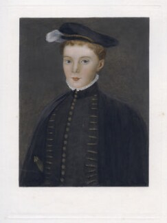 Henry Stuart, Lord Darnley, after Hans Eworth - NPG D42673