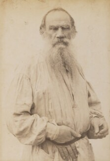 Count Leo Tolstoy, by Unknown photographer, circa 1894 - NPG P1700(12a) - © National Portrait Gallery, London
