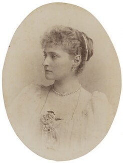 Alexandra, Empress of Russia (née Princess Alix of Hesse and by Rhine), by Hughes & Mullins, August 1894 - NPG P1700(13a) - © National Portrait Gallery, London