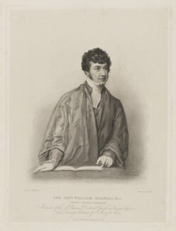 William Harness, by and published by Benjamin Holl, after  Thomas Charles Wageman - NPG D42540