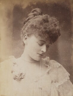 Frances Evelyn ('Daisy') Greville (née Maynard), Countess of Warwick, by Unknown photographer - NPG P1700(16a)