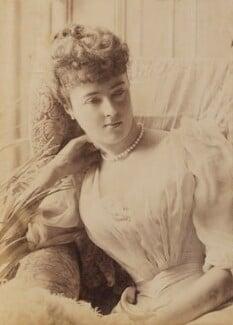 Georgina Elizabeth Ward (née Moncreiffe), Countess of Dudley, by Unknown photographer - NPG P1700(16c)