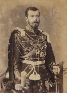 Nicholas II, Emperor of Russia, by W. & D. Downey - NPG P1700(24b)