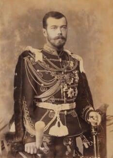 Nicholas II, Emperor of Russia, by W. & D. Downey, 1893 - NPG P1700(24b) - © National Portrait Gallery, London