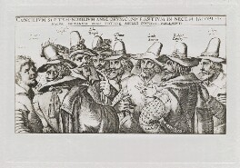 The Gunpowder Plot Conspirators, 1605, after Crispijn de Passe the Elder - NPG D42676