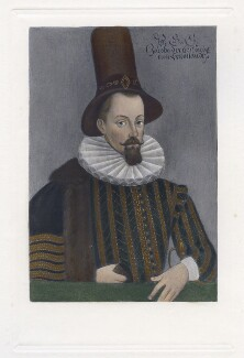 King James I of England and VI of Scotland, after Unknown artist, published 1902 (circa 1590) - NPG D42678 - © National Portrait Gallery, London
