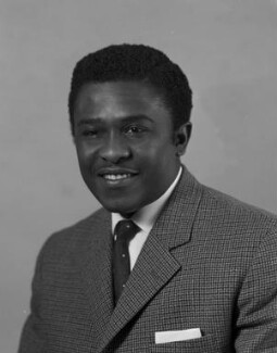 Sir Edward Okyere Asafu-Adjaye, by Rex Coleman, for  Baron Studios - NPG x191230