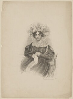 Unknown sitter, by and printed by J.M. Johnson, probably after  Thomas Charles Wageman - NPG D42548
