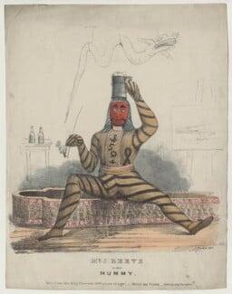 John Reeve in 'The Mummy', by C. Burton - NPG D42697