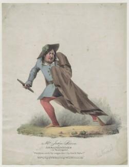 John Reeve as Abrahamides in 'Quadrupeds', published by Ingrey & Madeley - NPG D42699