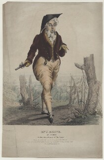 John Reeve as Acres in 'The Rivals', by James Henry Lynch, printed and published by  Engelmann, Graf, Coindet & Co - NPG D42700