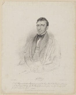 Sir George Biddell Airy, by Isaac Ware Slater, published by  W. Mason, published by  William Henry Mason, printed by  Graf & Soret, after  Thomas Charles Wageman - NPG D42551