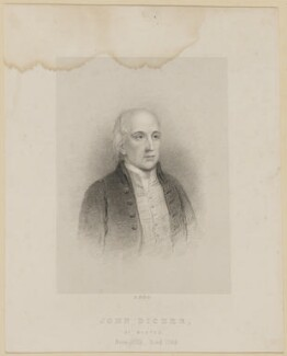 John Dicker, by Benjamin Holl - NPG D42553
