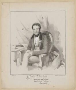 Major Denis Mahon, by Dickinson and Co, after  Thomas Charles Wageman - NPG D42554