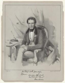 Major Denis Mahon, by Dickinson and Co, after  Thomas Charles Wageman - NPG D42702