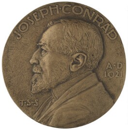 Joseph Conrad, by Theodore Spicer-Simson - NPG 6966